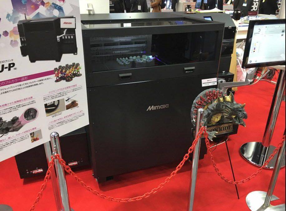 3DUJ-P Nom provisoire de la future imprimante 3D de Mimaki
