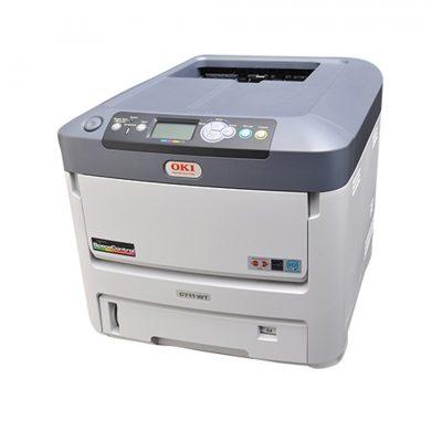 OKI C711WT Imprimante laser Toner Blanc