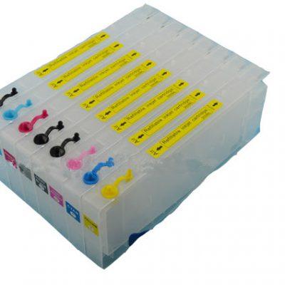 Cartouches remplissables pour EPSON 4800 et 4880