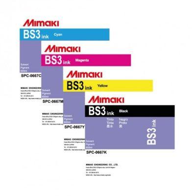 BS3 Encre Mimaki - Solvant - 600 ml