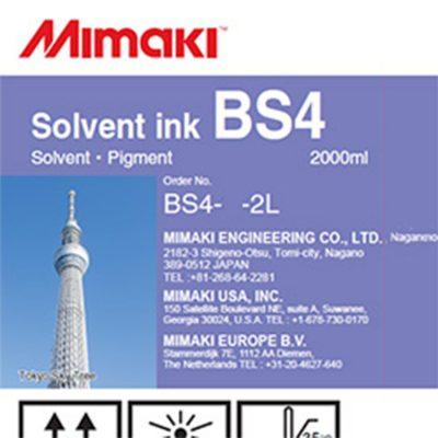 BS4 Encre Mimaki - Solvant - 2 L