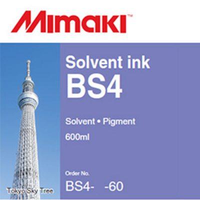 BS4 Encre Mimaki - Solvant - 600 ml