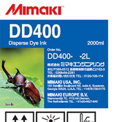 DD400 Encre Mimaki - Disperse Dye - 2 L