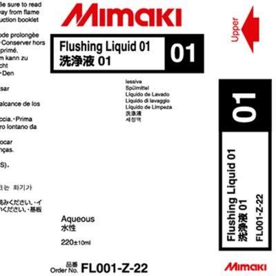 Liquide de rinçage 01 Latex Mimaki - 220 ml