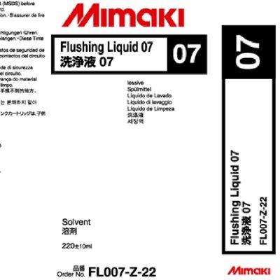 Liquide de rinçage 07 SUV Mimaki - Solvant UV - 220 ml
