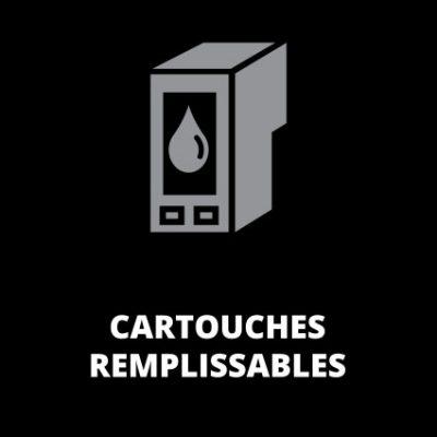 Cartouches remplissables