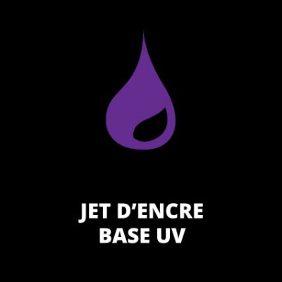 Jet d'encre base UV