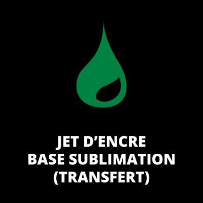 Jet d'encre base Sublimation (Transfert)