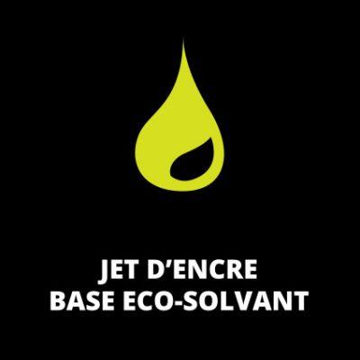 Jet d'encre base Eco-Solvant